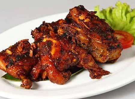 Ayam Bakar Kecap Pedas Gurih