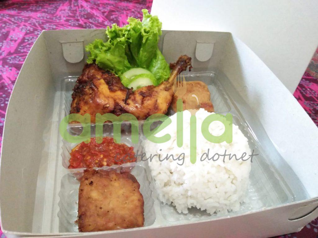 Nasi Kotak Ayam Bakar : AmeliaCatering.net